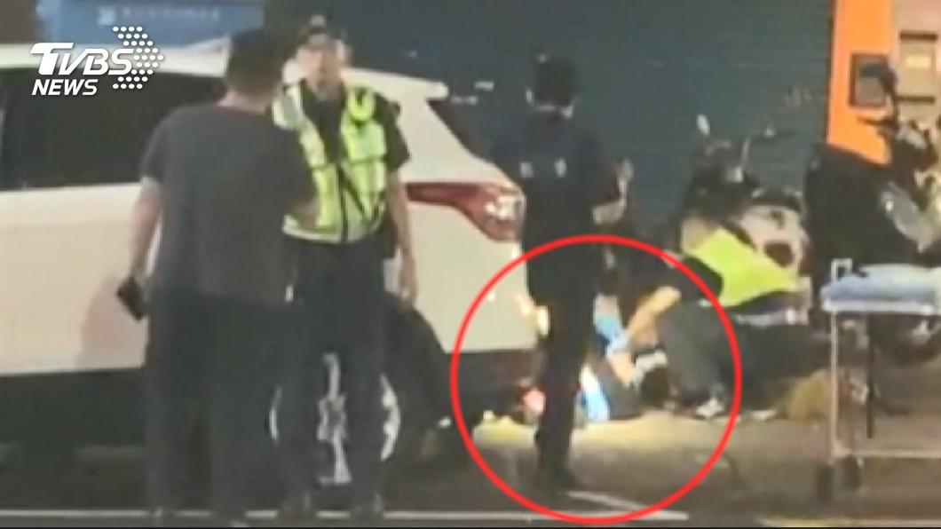 圖/TVBS 前妻離家嗆這句!23歲嫩爸抱女跳窗 墜3樓腦死器捐