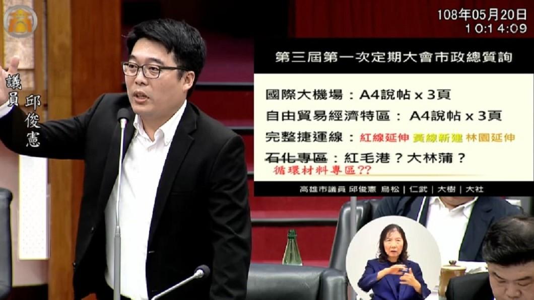 圖/翻攝自高雄市議會網站