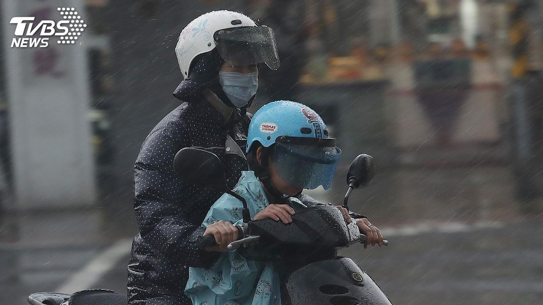 示意圖/中央社 暴雨襲中台灣 南投7所國中小下午停課
