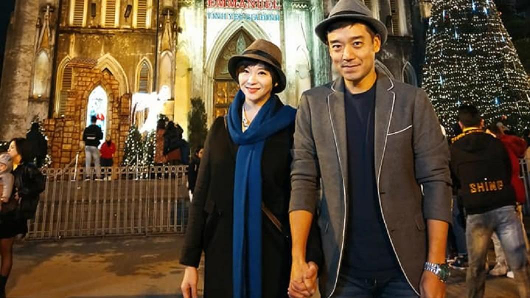 岑永康、張珮珊結婚多年依舊相當恩愛。圖/翻攝岑永康張珮珊窩幸福臉書
