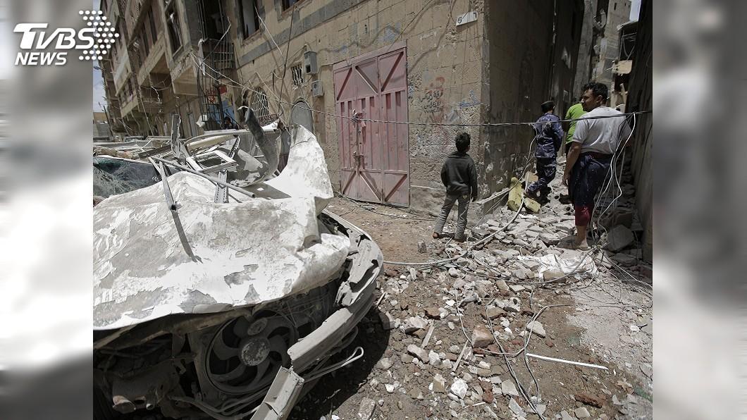 圖/達志影像美聯社 葉門叛軍半路劫物資 聯合國暫停糧食援助