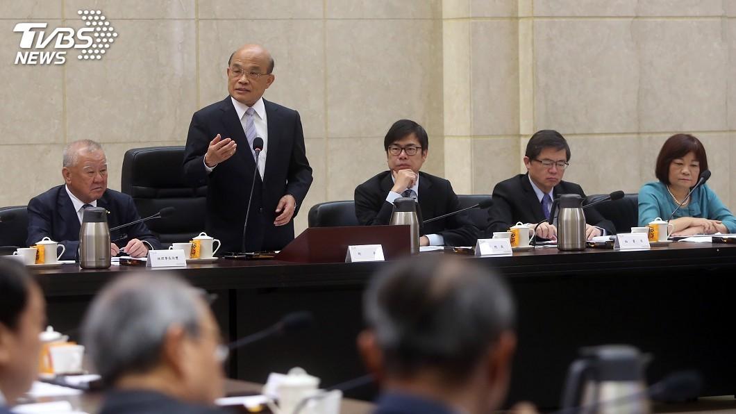圖/中央社 駁新南向成效不彰 政院:深化與夥伴國實質關係