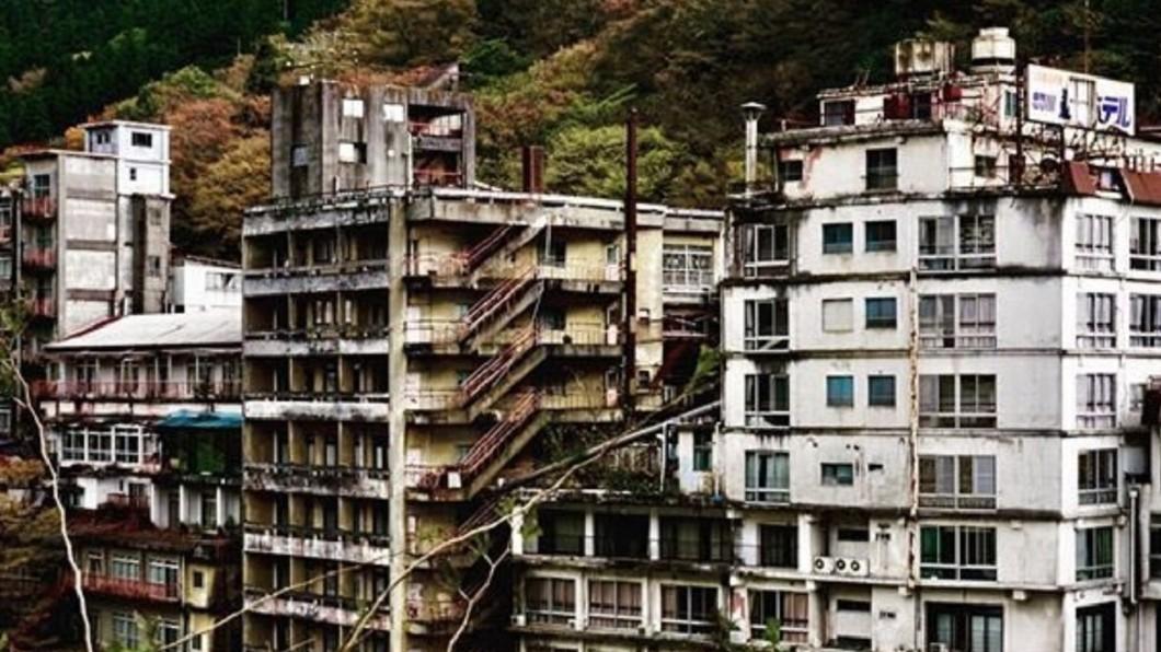 圖/翻攝自ezone 鬼怒川溫泉遊客不來 廢棄飯店如同鬼屋