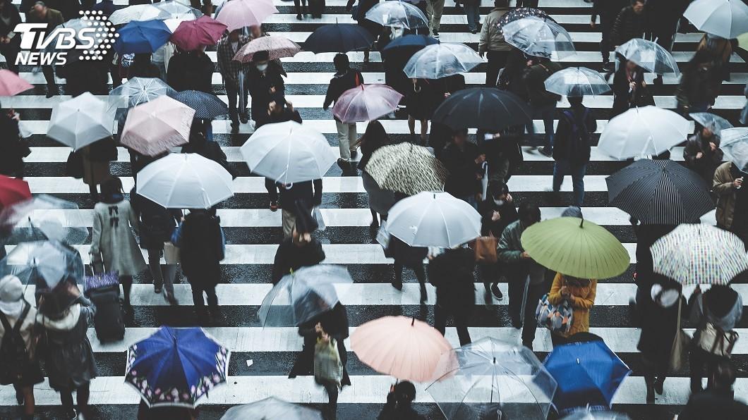 示意圖/TVBS 梅雨狂炸!這「兩天」降雨明顯 台中南投嚴防大豪雨
