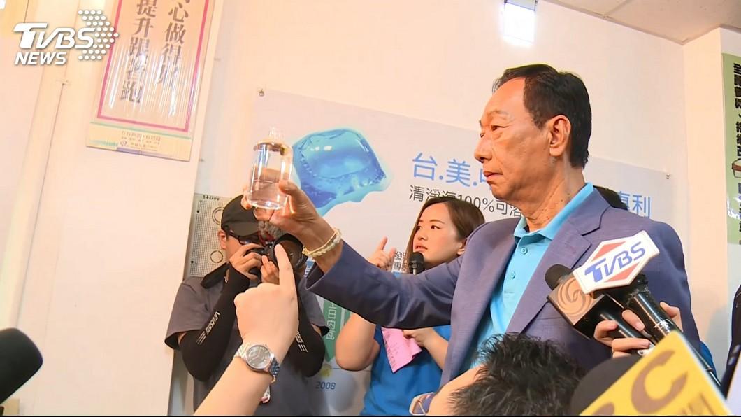 鴻海董事長郭台銘。圖/TVBS