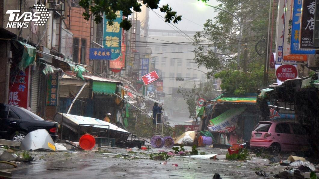 圖/中央社 颱風每年襲台逾4次 內政部列10大防災須知