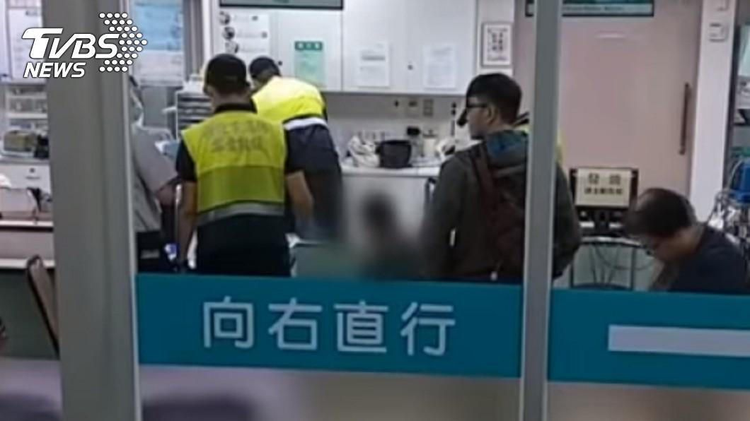 圖/TVBS 祖孫落水嬤喪命 男童「父入獄、母失聯」頓失依靠