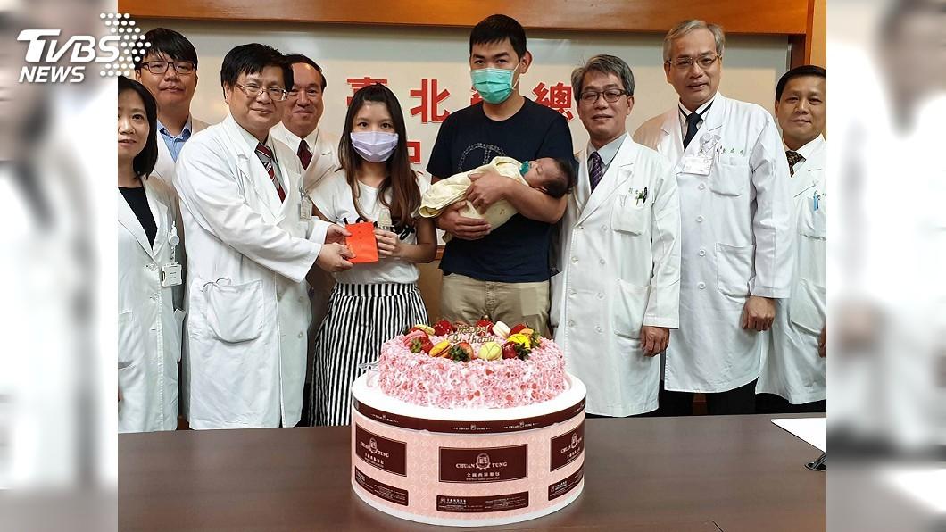 圖/中央社 台、越最小年齡肝移植 北榮雙創紀錄