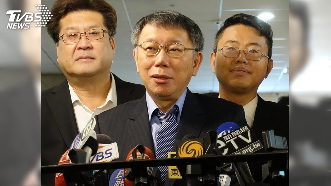 圖/中央社 議會提重發敬老金 柯文哲酸國民黨變賣黨產來發