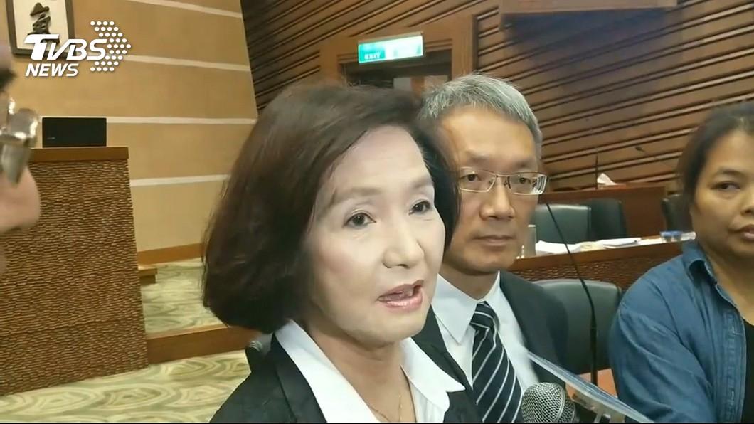 圖/TVBS 議員質詢問青創蘭青庭 林姿妙:我聽過「竹蜻蜓」