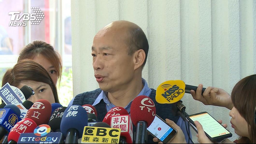 圖/TVBS資料畫面 韓國瑜允諾替雲林農漁產品找通路 至少30%外銷