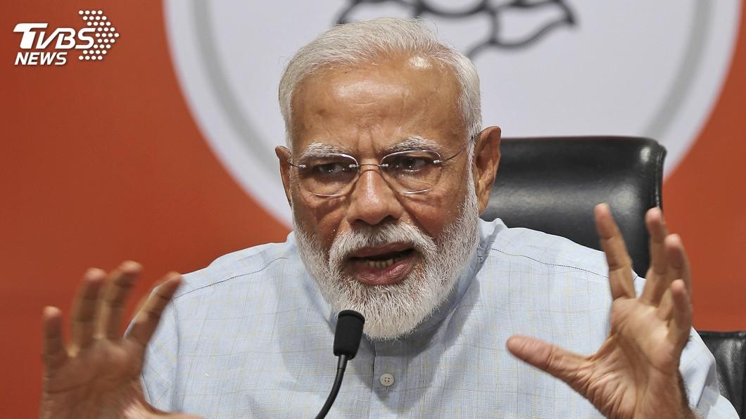 圖/達志影像美聯社 印度大選開始計票 總理莫迪陣營取得領先優勢