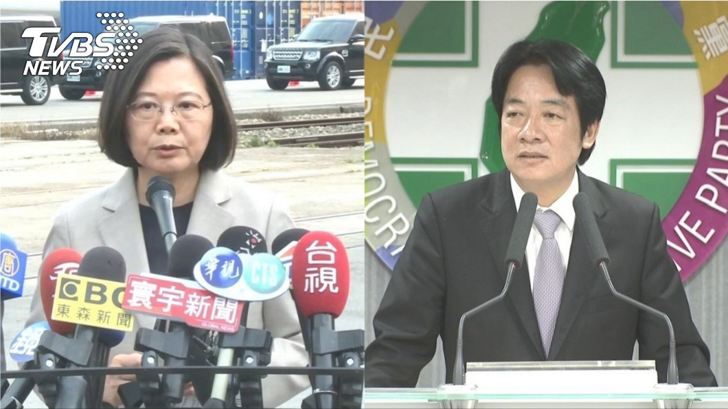 圖/TVBS 稱蔡陣營有人說謊 賴再反擊「我沒說不選」