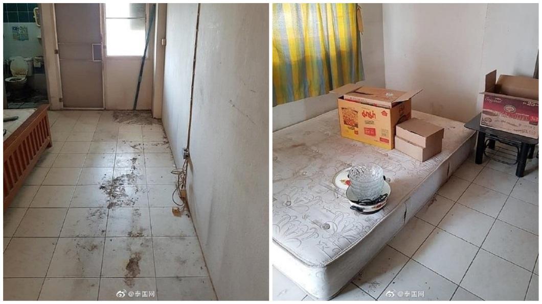 事後房東找清潔公司幫忙清理,花費好大一番工夫才恢復。(圖/翻攝自泰國網微博)