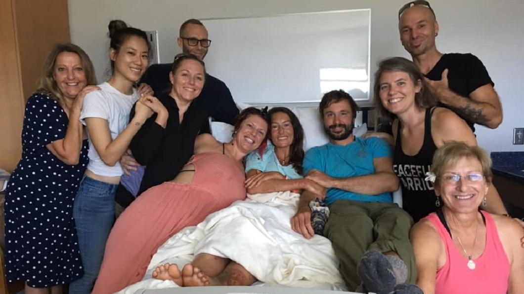 所幸這名瑜珈女老師送醫急救後已無大礙。(圖/翻攝自臉書粉絲團)