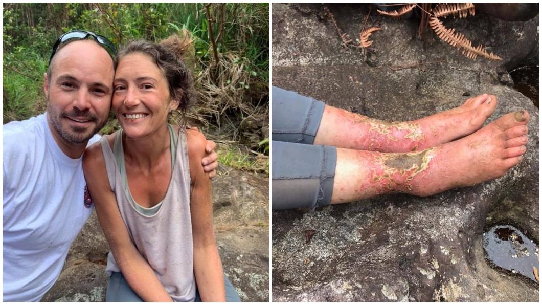 瑜珈女師在經歷17天的驚魂記後,終於被順利救出。(圖/翻攝自臉書粉絲團)