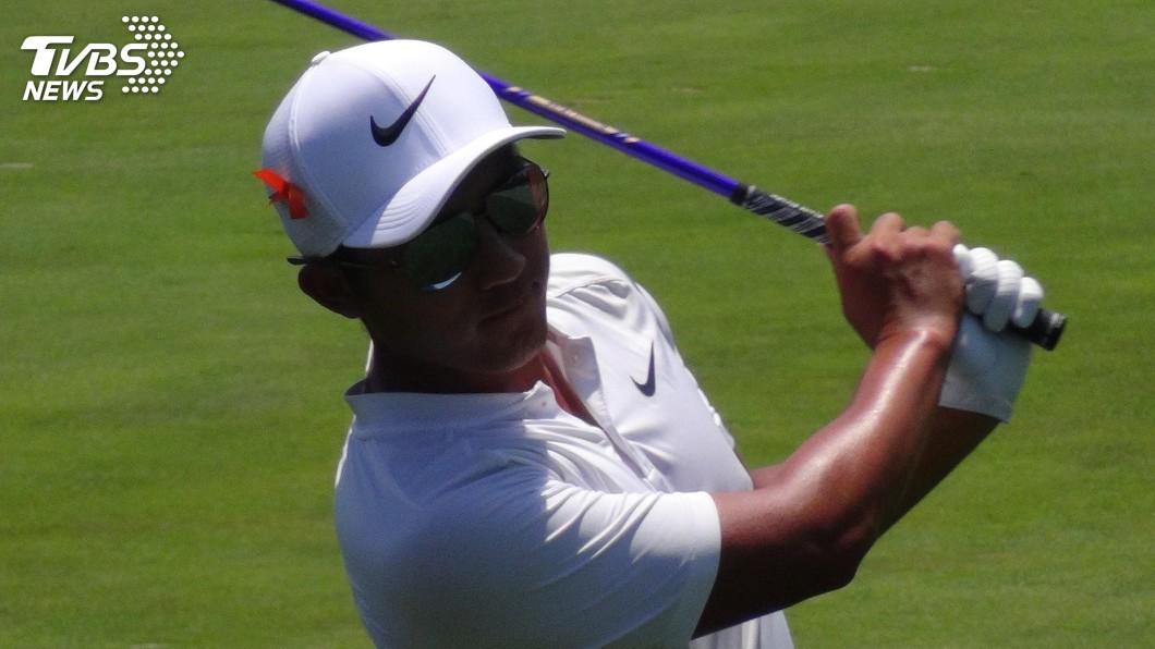 圖/中央社資料畫面 PGA嘉信挑戰賽 潘政琮並列第3名作收