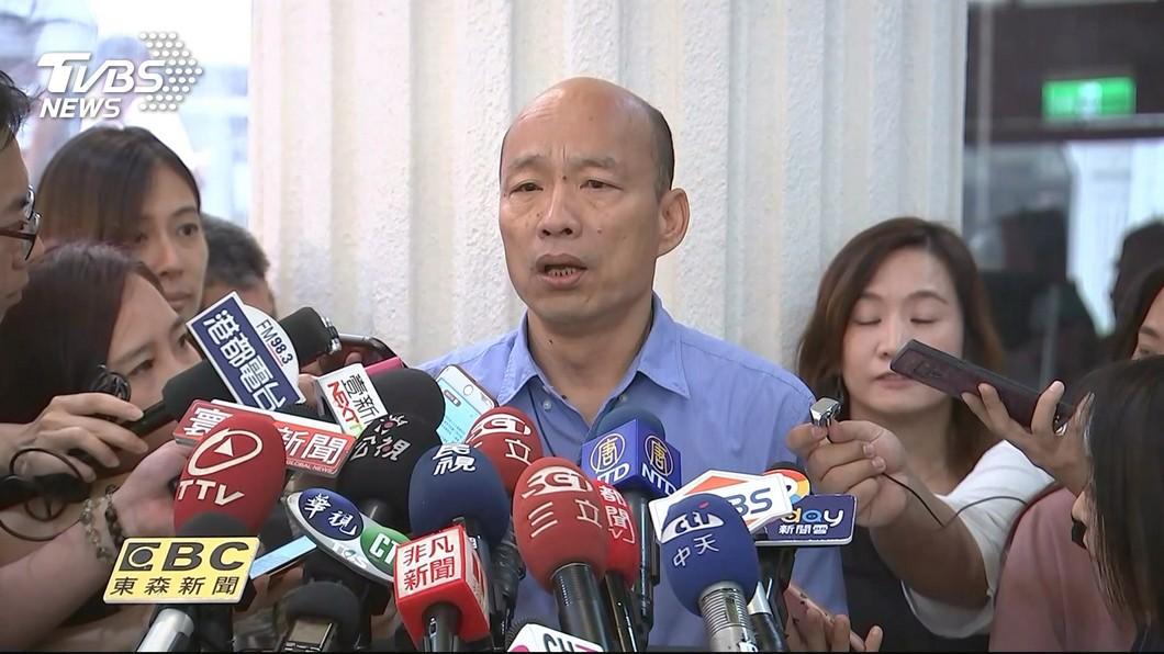 圖/TVBS 支持恢復18%?韓國瑜聲明:從未主張勿抹黑