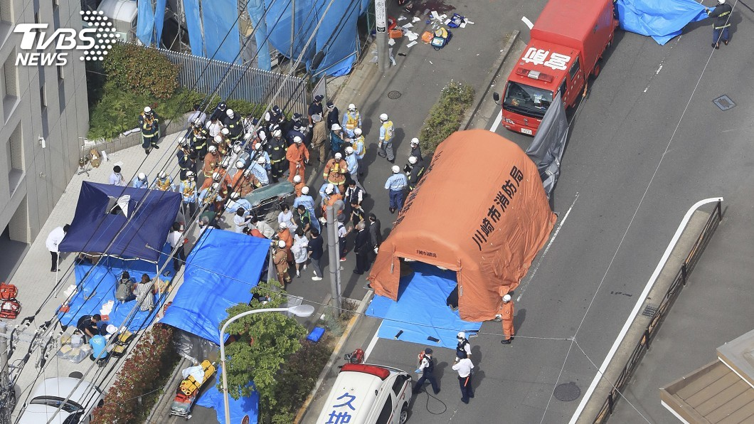 圖/達志影像美聯社 日本隨機殺人不斷 2016年單起事件19死最慘重