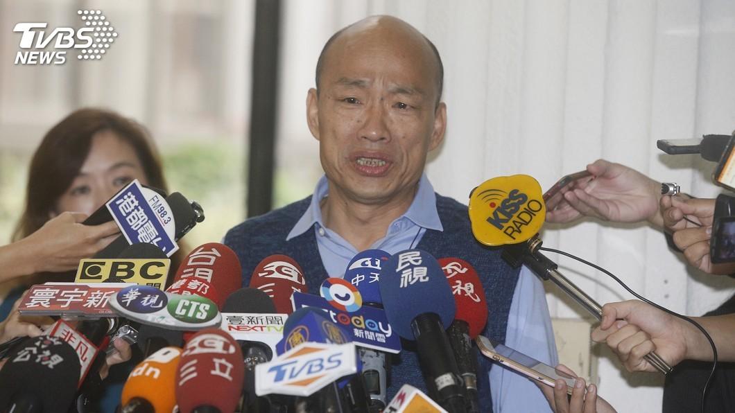 圖/中央社 若機密公文外流 韓國瑜:相關人員須負法律責任