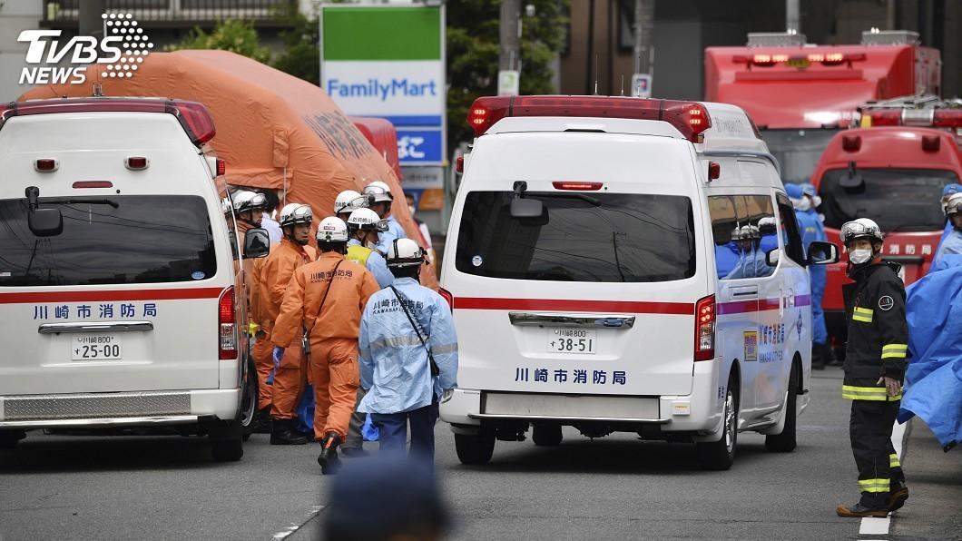 圖/達志影像美聯社 日本隨機殺人 家長得知小孩平安心情複雜