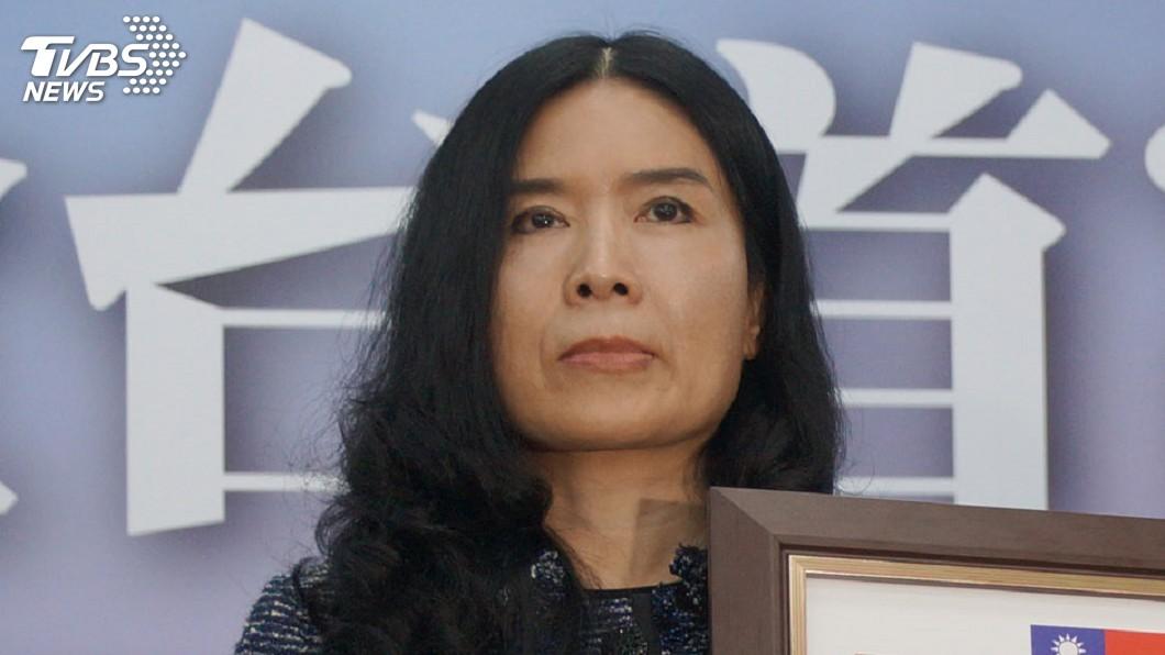 圖/中央社 張淑中不認同李進勇任主委 請辭中選會委員