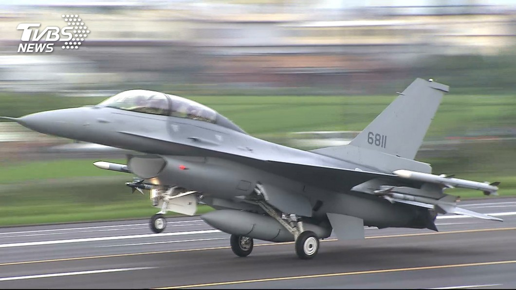 圖/TVBS資料畫面 政院拍板F-16V軍購特別條例 蘇揆:中威脅倍增
