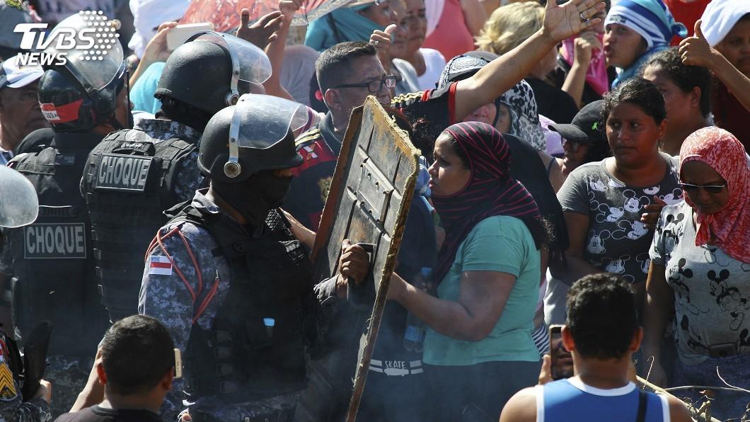 圖/達志影像美聯社 巴西監獄鬥毆 幫派喋血衝突兩天釀55死