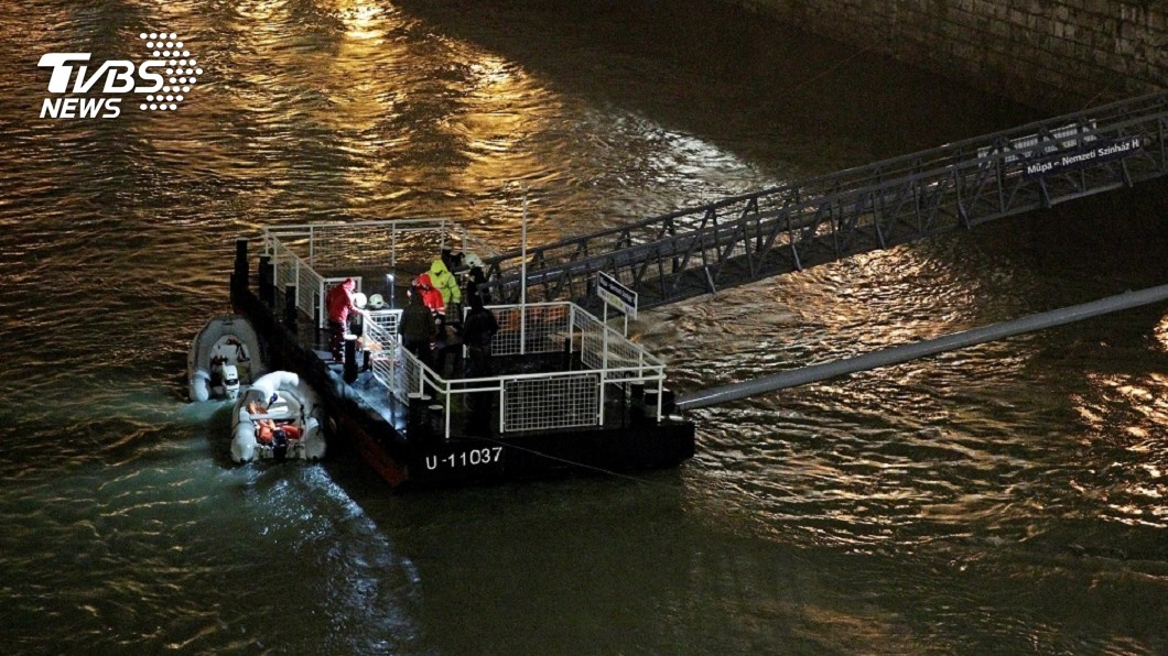 圖/達志影像路透社 「夜遊多瑙河」卻翻船 韓33名團客多人失蹤