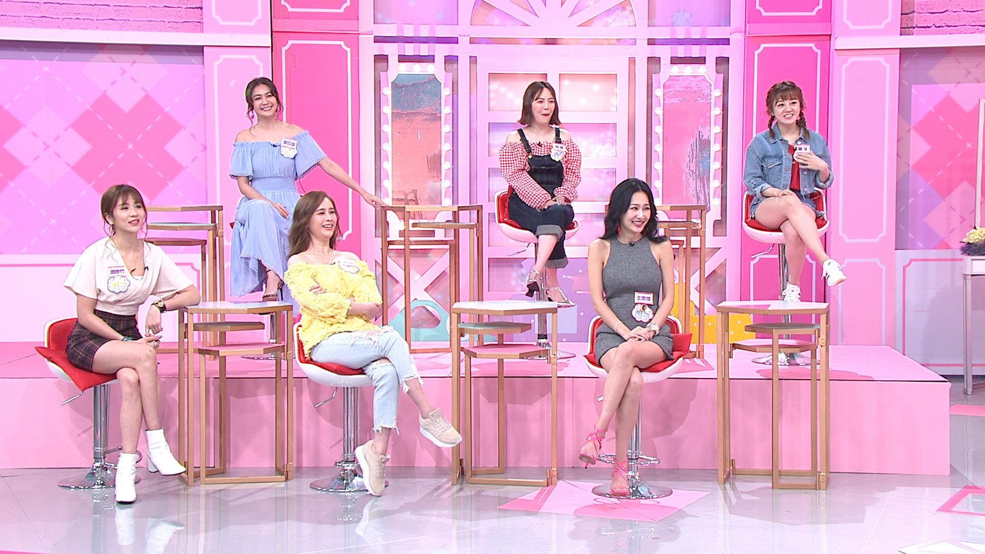 《女人我最大》的女生怎麼追 。圖/TVBS TVBS《女人我最大》12星座的女生怎麼追?