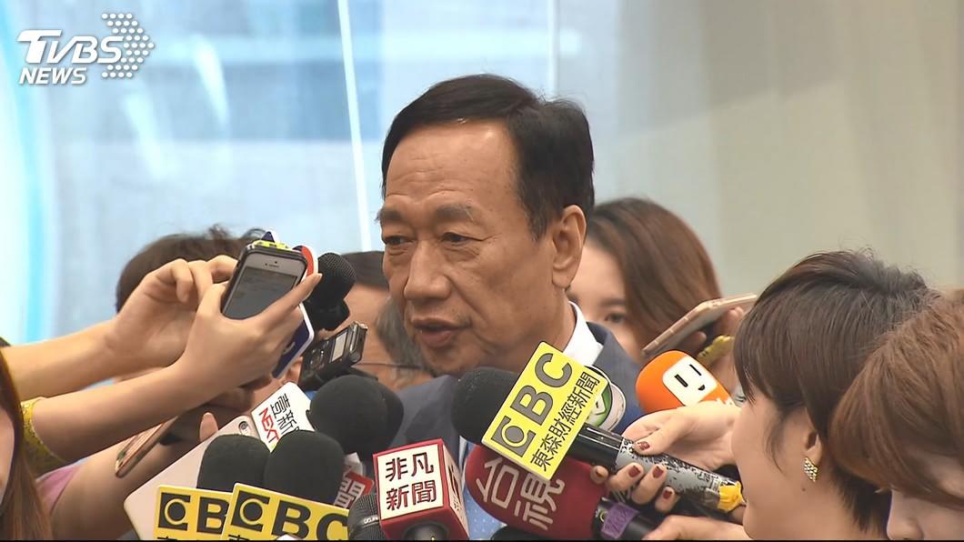 郭台銘:當選不特赦,依然反廢死。圖/TVBS 當選不特赦扁還反廢死 郭台銘:不符合規定就回籠