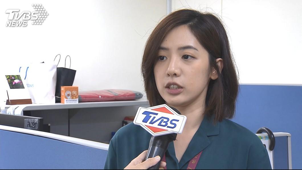 圖/TVBS 是否代表民眾黨選立委? 黃瀞瑩:做好發言職優先