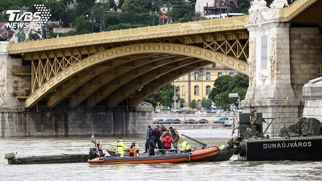 圖/達志影像路透社 多瑙河船難 失蹤南韓觀光客倖存希望渺茫