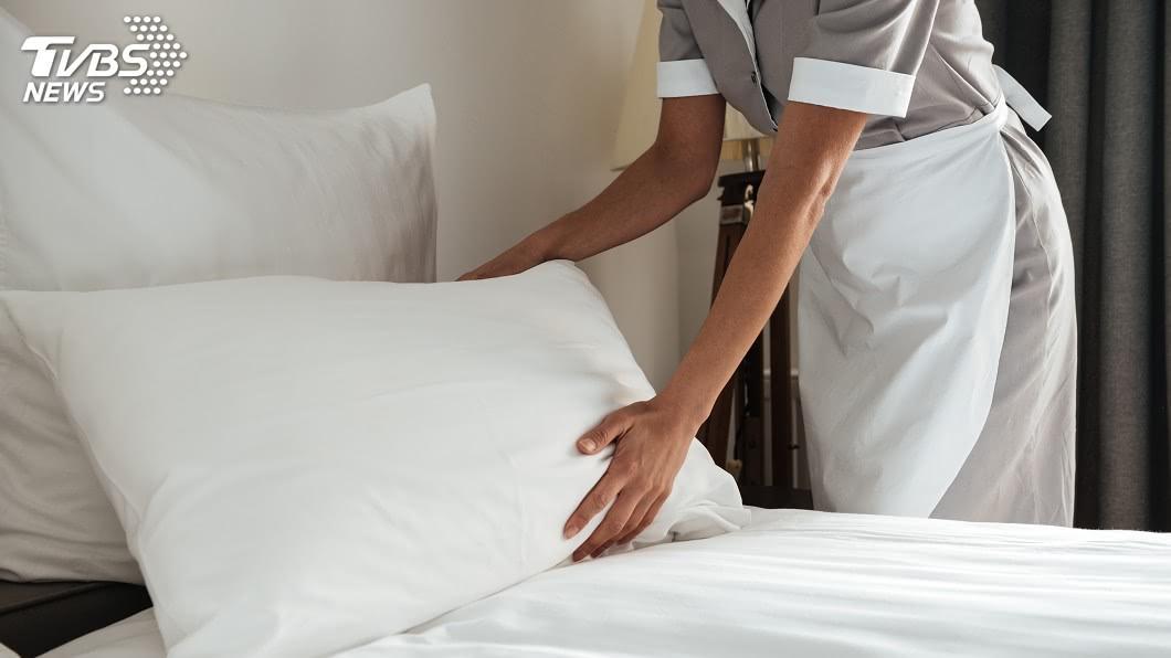 示意圖/TVBS 為何飯店偏愛白色床單?達人曝4原因 網驚長知識