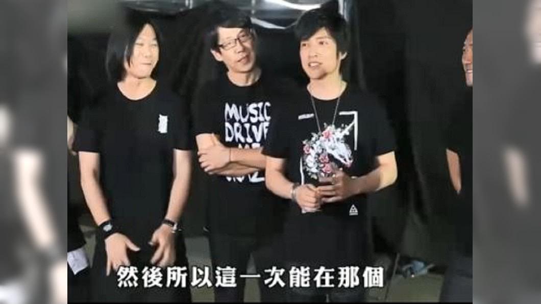 圖/翻攝自木曜4超玩 YouTube 邰智源化身演唱會員工 被五月天cue上台