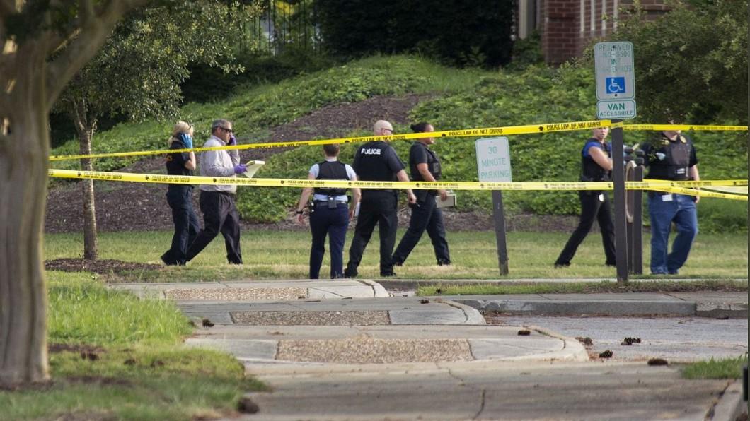圖/轉攝自The Virginian-Pilot twitter 前員工疑心生不滿 美維州政府大樓槍擊釀死傷