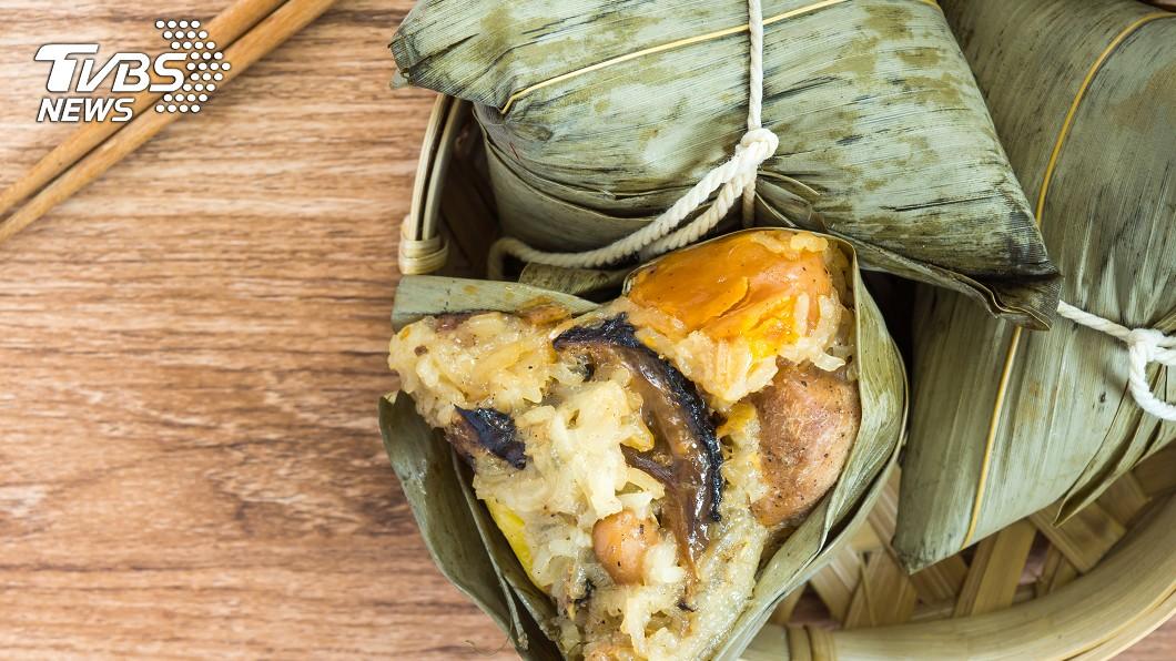 端午節吃粽子習俗盛行。圖/TVBS 端午吃粽怕胃脹? 醫曝9招預防:這3種水果先下肚