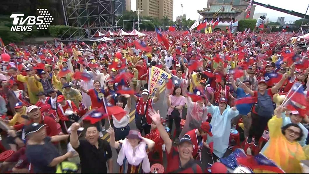 圖/TVBS 韓國瑜花蓮造勢 國民黨議員:將號召5萬人