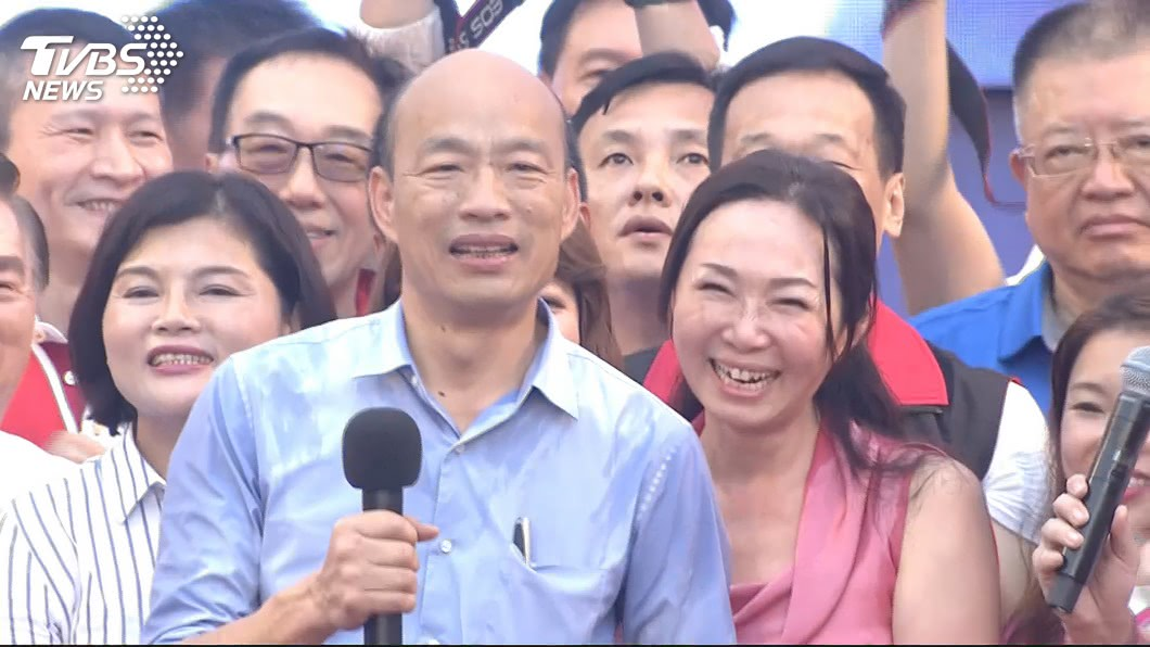 圖/TVBS資料畫面 韓國瑜過初選 他提組「經濟夢幻團隊」就能贏大選