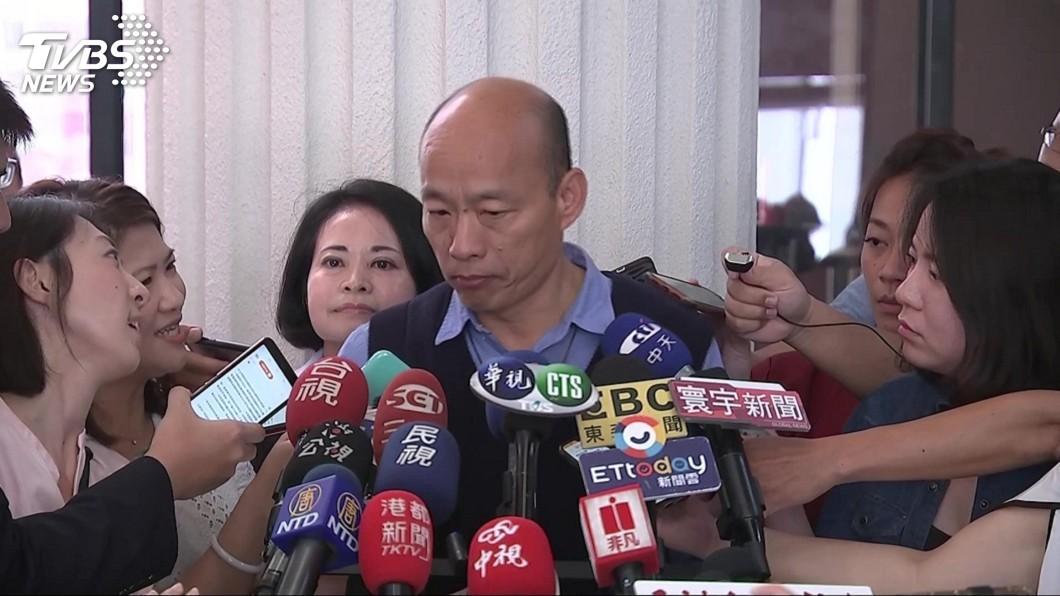 圖/TVBS 總質詢鎖定韓國瑜! 民進黨議員請官員退席