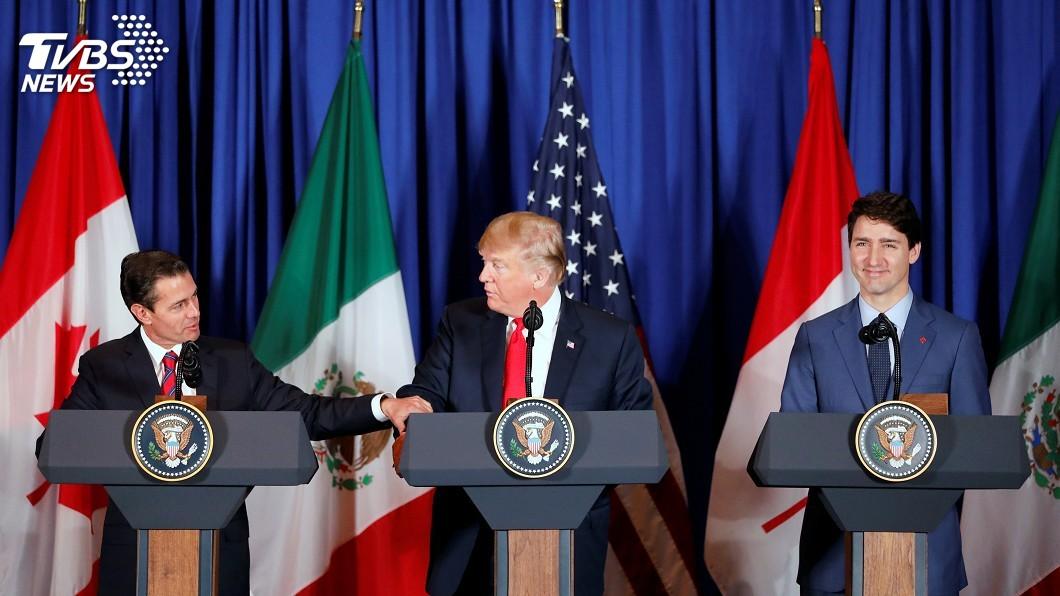 圖/達志影像路透社 川普對墨祭關稅 白宮官員:不影響北美貿易協定