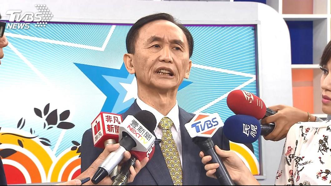 美麗島電子報董事長吳子嘉。圖/TVBS 爆韓國瑜婚外情挨告 吳子嘉再轟「這行為」:很低級