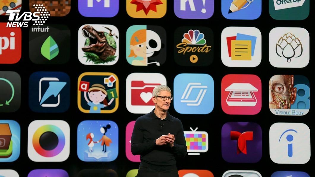 圖/達志影像路透社 走向多角經營 蘋果開發大會展示數位服務新軟體