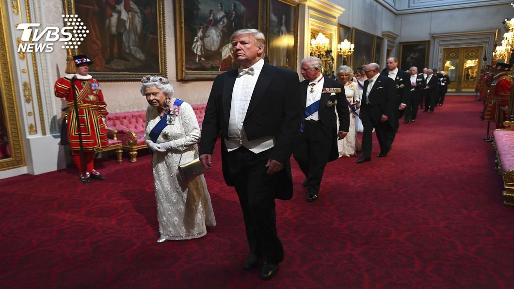 圖/達志影像美聯社 川普態度差很多 讚女王偉大罵倫敦市長魯蛇