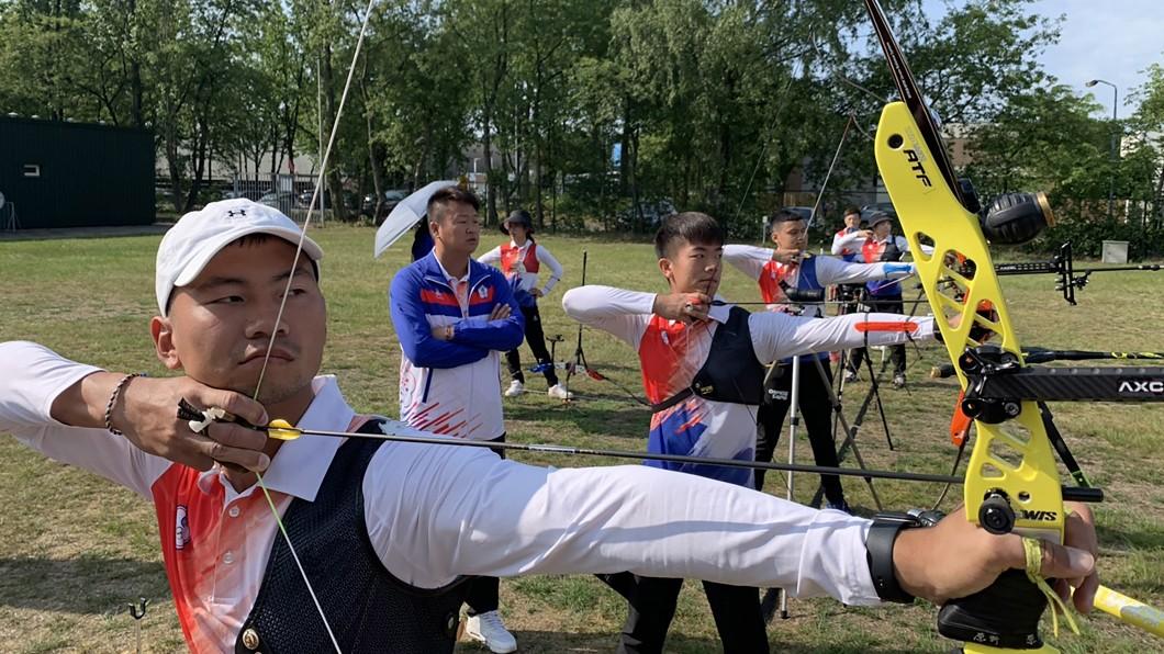 圖/倪大智提供 中華射箭隊衝刺世錦賽 目標取得滿額奧運門票