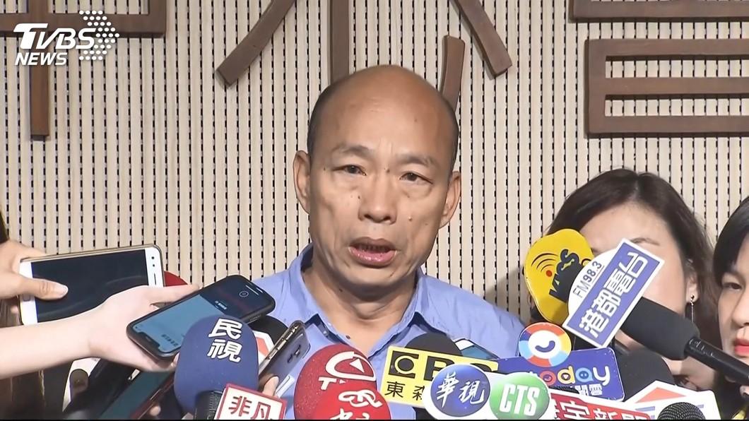 圖/TVBS 韓國瑜列席行政院會 爭取興建南部國際機場