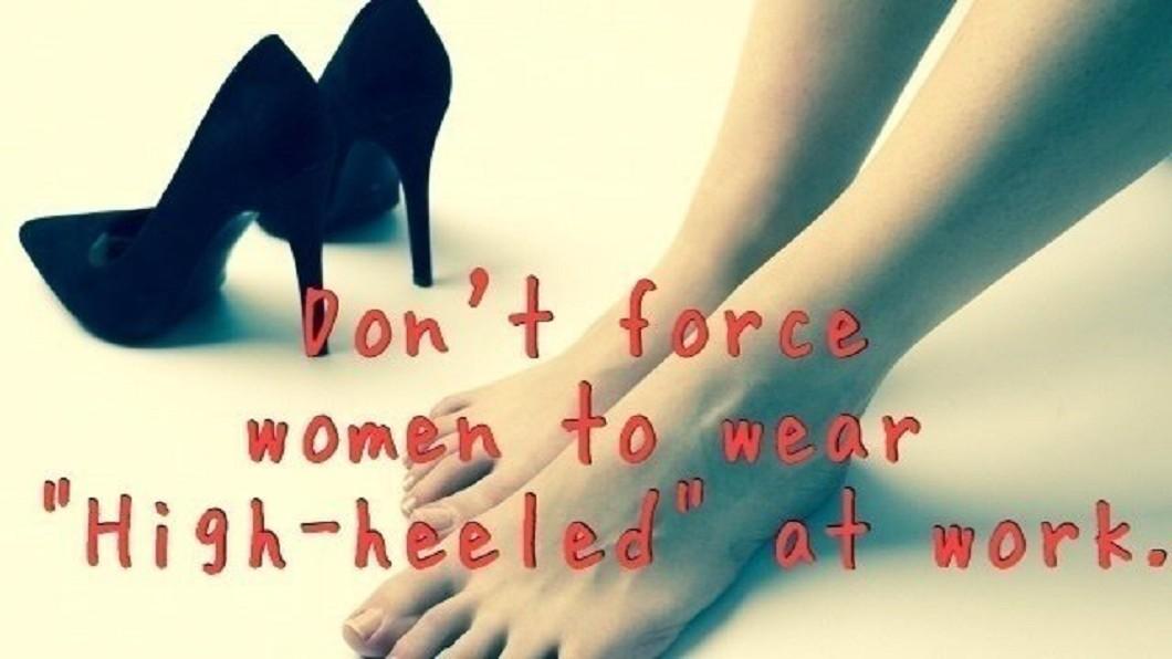 圖/翻攝自Change.org官網 拒絕「被穿高跟鞋」 日本女星連署獲2萬人支持