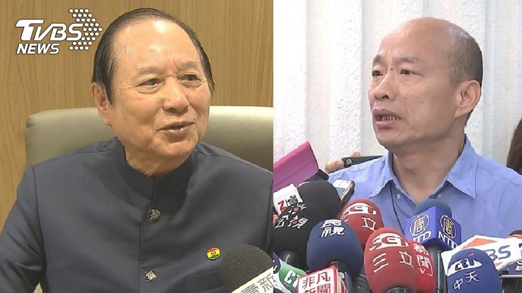 妙天禪師(左)、高雄市長韓國瑜(右)圖/TVBS資料照 爆妙天「這原因」挺韓 蔡正元:忙造勢到病倒骨折