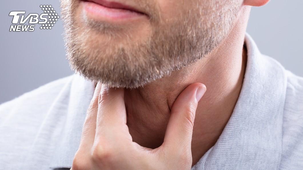 示意圖/TVBS 頸冒腫塊!男以為是感冒 醫檢查…竟是「沉默癌症」上身