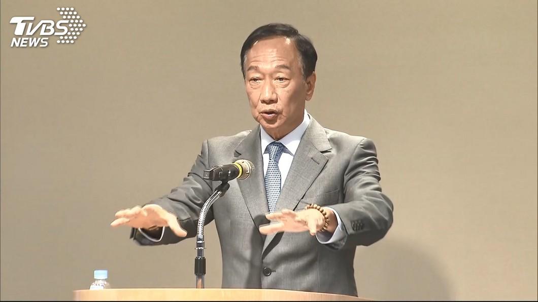 圖/TVBS 鴻海沒過勞問題!郭台銘:40年沒逼員工加班過
